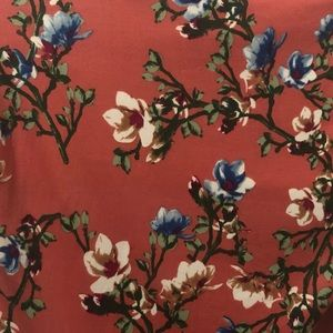 1940's flower Print dress